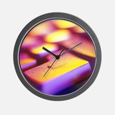 Computer key Wall Clock