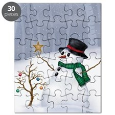 White Christmas Puzzle