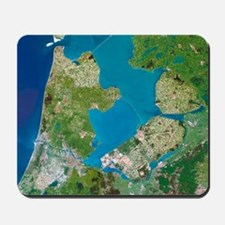 Polders, satellite image Mousepad