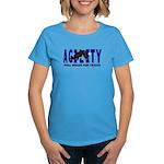 AGILITY: Will weave  Women's Dark T-Shirt