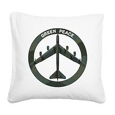 B-52 Stratofortress - BUFF Square Canvas Pillow