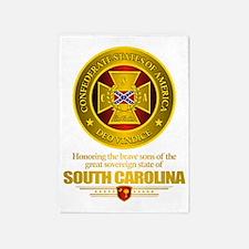 South Carolina SCH 5'x7'Area Rug