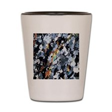 Polarised LM of thin section of gneiss Shot Glass