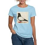Black Whiteside Roller Pigeon Women's Light T-Shir