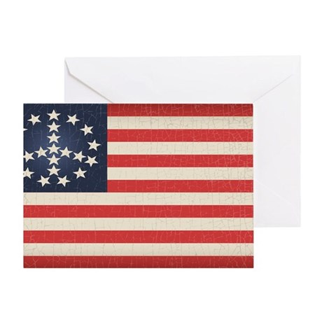 Peace Flag 2 -stkr Greeting Card