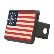 Peace Flag 2 -stkr Hitch Cover