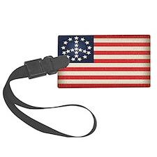 Peace Flag 2 -stkr Luggage Tag