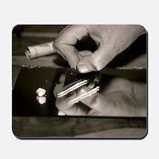 Cocaine use Mousepad