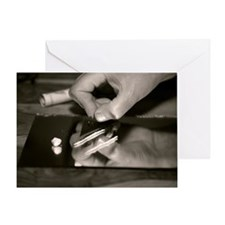 Cocaine use Greeting Card