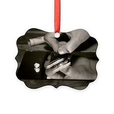 Cocaine use Picture Ornament