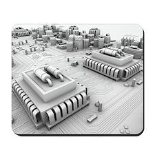 Circuit board, artwork Mousepad