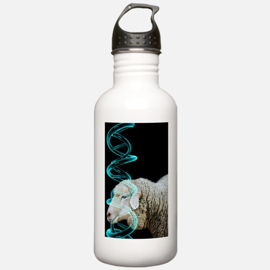 Cloned sheep, conceptu Water Bottle