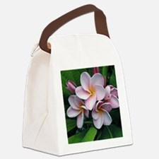 Plumeria flowers Canvas Lunch Bag