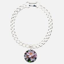 Plumeria flowers Bracelet