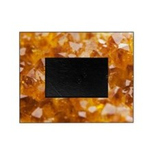 Citrine crystals Picture Frame