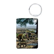 Permian animals, artwork Keychains