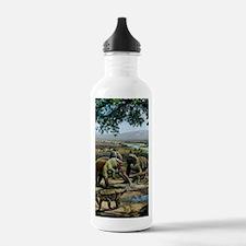 Permian animals, artwo Water Bottle