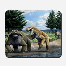 Permian animals, artwork Mousepad