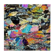 Peridotite rock Tile Coaster