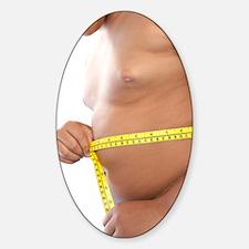Childhood obesity Sticker (Oval)