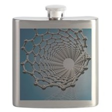 Carbon nanotube, artwork Flask