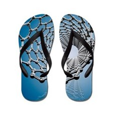 Carbon nanotube, artwork Flip Flops