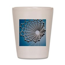 Carbon nanotube, artwork Shot Glass