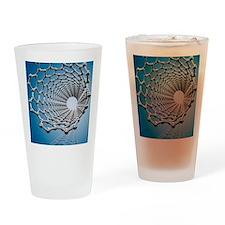 Carbon nanotube, artwork Drinking Glass