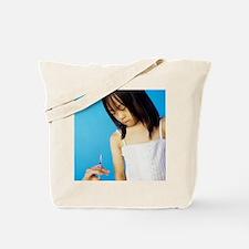 Childhood injection Tote Bag