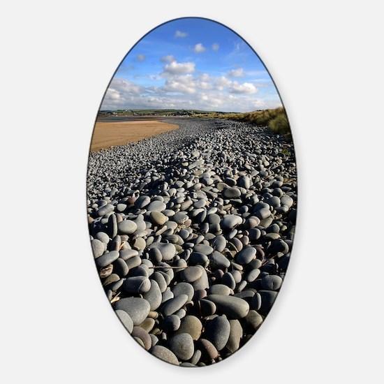 Pebble ridge Sticker (Oval)