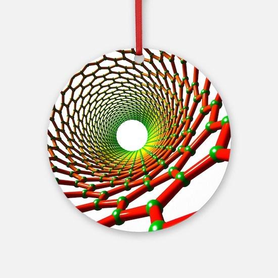 Carbon nanotube Round Ornament