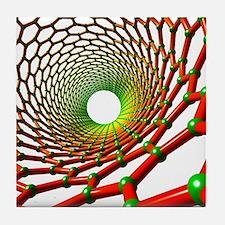 Carbon nanotube Tile Coaster