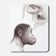 Paranthropus aethiopicus skull and head Mousepad