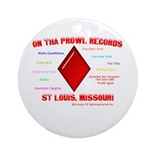 Ornament (Round)(Can Insert Your Logo)