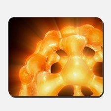 Buckyball, C60 Buckminsterfullerene Mousepad