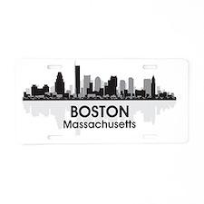 Boston Aluminum License Plate