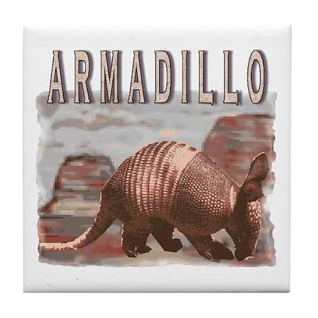 Arizona Armadillo Tile Coaster