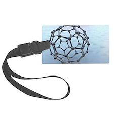 Buckminsterfullerene molecule Luggage Tag
