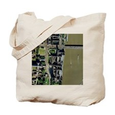 Palace of Westminster, aerial Tote Bag