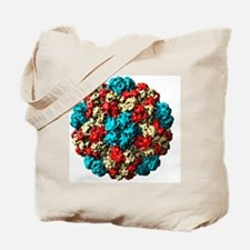 Brome grass mosaic virus particle Tote Bag