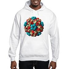 Brome grass mosaic virus particl Hoodie