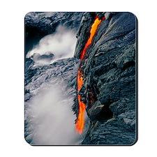 Pahoehoe lava flow from Kilauea volcano, Mousepad