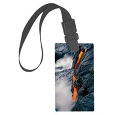Pahoehoe lava flow from Kilauea  Luggage Tag