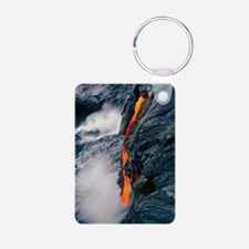 Pahoehoe lava flow from Ki Keychains