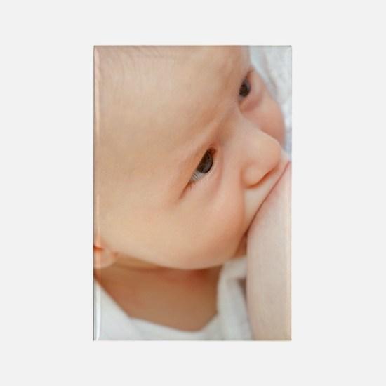 Breastfeeding Rectangle Magnet