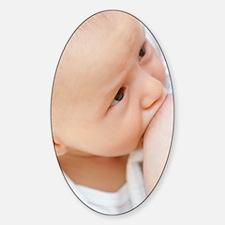 Breastfeeding Sticker (Oval)