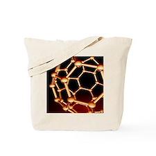 Buckminsterfullerene molecule Tote Bag