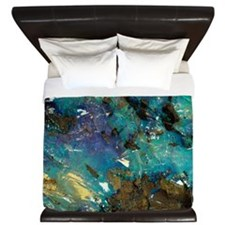 Opal on bedrock King Duvet