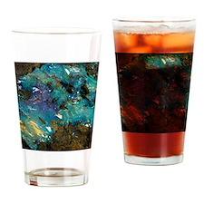 Opal on bedrock Drinking Glass