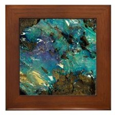 Opal on bedrock Framed Tile